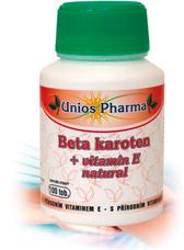 Beta karoten + vitamin E 60 tobolek