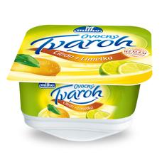 Milko ovocný tvaroh citrón+limetka 130 g