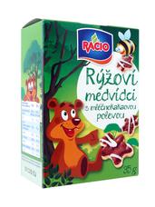 RACIO rýžoví medvídci s mléčnokakaovou polevou 35 g