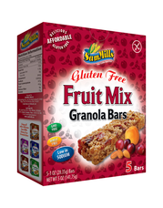 Müsli tyčinky bez lepku s ovocným mixem 142 g Sam Mills