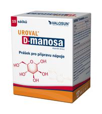 Uroval® D-manosa 15 sáčků