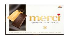 merci tabulková čokoláda extra hořká 100 g