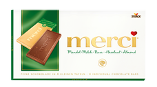 merci tabulková čokoláda oříšková 100 g