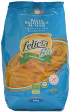 FELICIA BIO kukuřično-rýžové těstoviny penne rigate 500 g