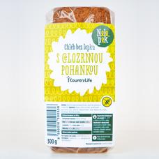 Chléb bez lepku s celozrnnou pohankou 300 g NELEPEK