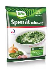 Špenát ochucený Dione 400 g