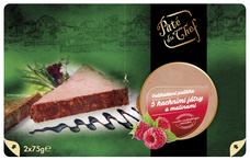 Pâté du Chef paštika s kachními játry a malinami 2 x 75 g