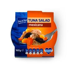 Salát s tuňákem Mexicana 160 g SUN & SEA