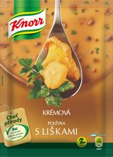 Knorr Krémová polévka s liškami 63 g