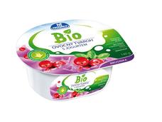 BIO Ovocný tvaroh s jogurtem, brusinkový Milko 140 g