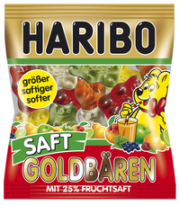 HARIBO Saft-Goldbären 85 g