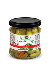 Corničonky s chilli efko 210 ml