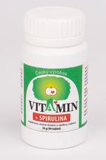 Vitamin+Spirulina 90 tbl