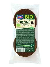 RACIO BIO rýžové chlebíčky s hořkou čokoládou 100 g