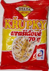 DELTA Křupky arašídové 70 g