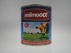 Zahuštěné slazené mléko 397 g Milmoo