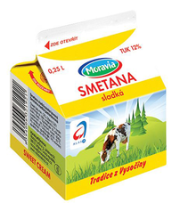 Smetana 12% 250 ml