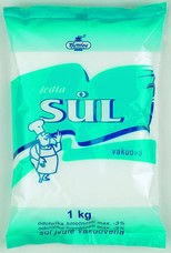 Jedlá sůl vakuová 1 kg