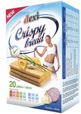 CRISPY BREAD - křehký plátek s česnekem a cibulí 130 g