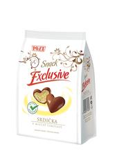 Srdíčka v mléčné čokoládě 90 g