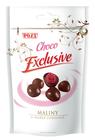 Maliny v hořké čokoládě 400 g
