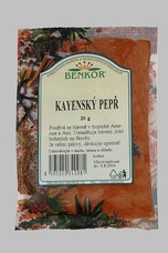 Kayenský pepř 20 g