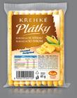 Křehké plátky kukuřičné se sýrem 65g