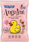 Bezlepkový snack Angelina pro děti 4x15 g