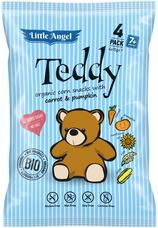 Bezlepkový snack Teddy pro děti 4x15 g
