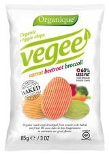 Organic Vegee chips carrot, beetrot, broccoli 85 g