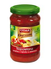 Otma Gurmán Napoletana omáčka s rajčaty a zeleninou 350 g