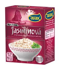 Rýže dlouhozrnná jasmínová s červenou ARAX (4 x 120 g) 480 g