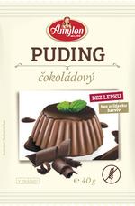 Puding čokoládový, bez lepku, bez přidaných barviv 40 g