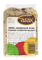 Jasmínová rýže s quinoa a sušenými rajčaty ARAX, 320 g