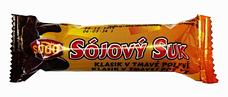 Sojový suk v tmavé polevě 50 g
