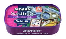 JADRAN sardinky v olivovém oleji 125 g