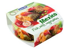 Opečená ryba se zeleninou na mexický způsob 200 g