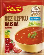 Bez lepku Rajská polévka 76 g