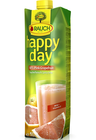 Happy Day růžový grapefruit 100% 1 l