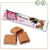 CELIHOPE Arónia sušienky plnené náplňou zarónie ačiernych ríbezlí 65 g