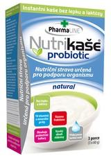 Nutrikaše probiotic - natural 180 g (3x60g)