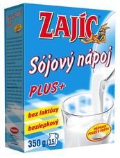 Sójový nápoj Zajíc PLUS 350 g vitam. + vápník + lecit