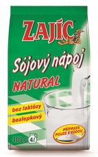 Sójový nápoj ZAJÍC natural 400 g - sáček