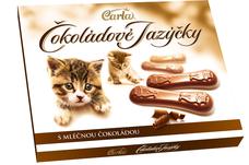 Čokoládové jazýčky mléčné 100 g