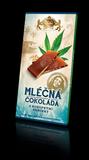 Mléčná čokoláda s konopným semínkem 80 g