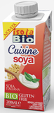 Sojový krém na vaření a pečení ISOLA BIO  200 ml