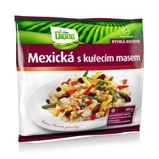 Mexická s kuřecím masem 400 g