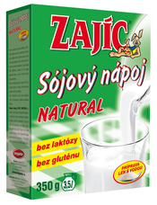 Sójový nápoj Zajíc natural 350 g