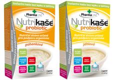 Nutrikaša probiotic pohánková, Nutrikaša  probiotic pšenová 180 g