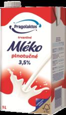3,5% UHT mléko Mlékárna Pragolaktos 1 l